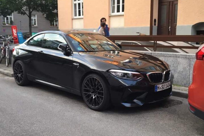 Spied Bmw M2 Competition Caught In Munich