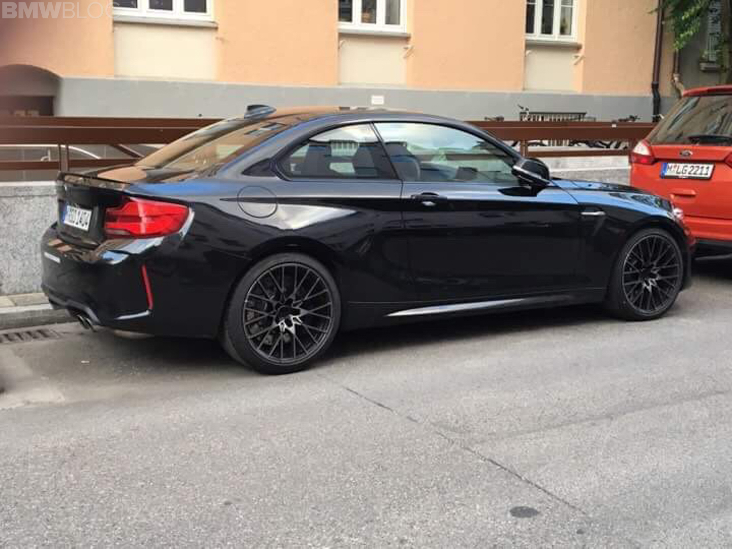 SPIED: BMW M2 Competition Caught In Munich