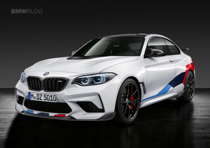 BMW M2 Competition M Performance Parts 02 830x584