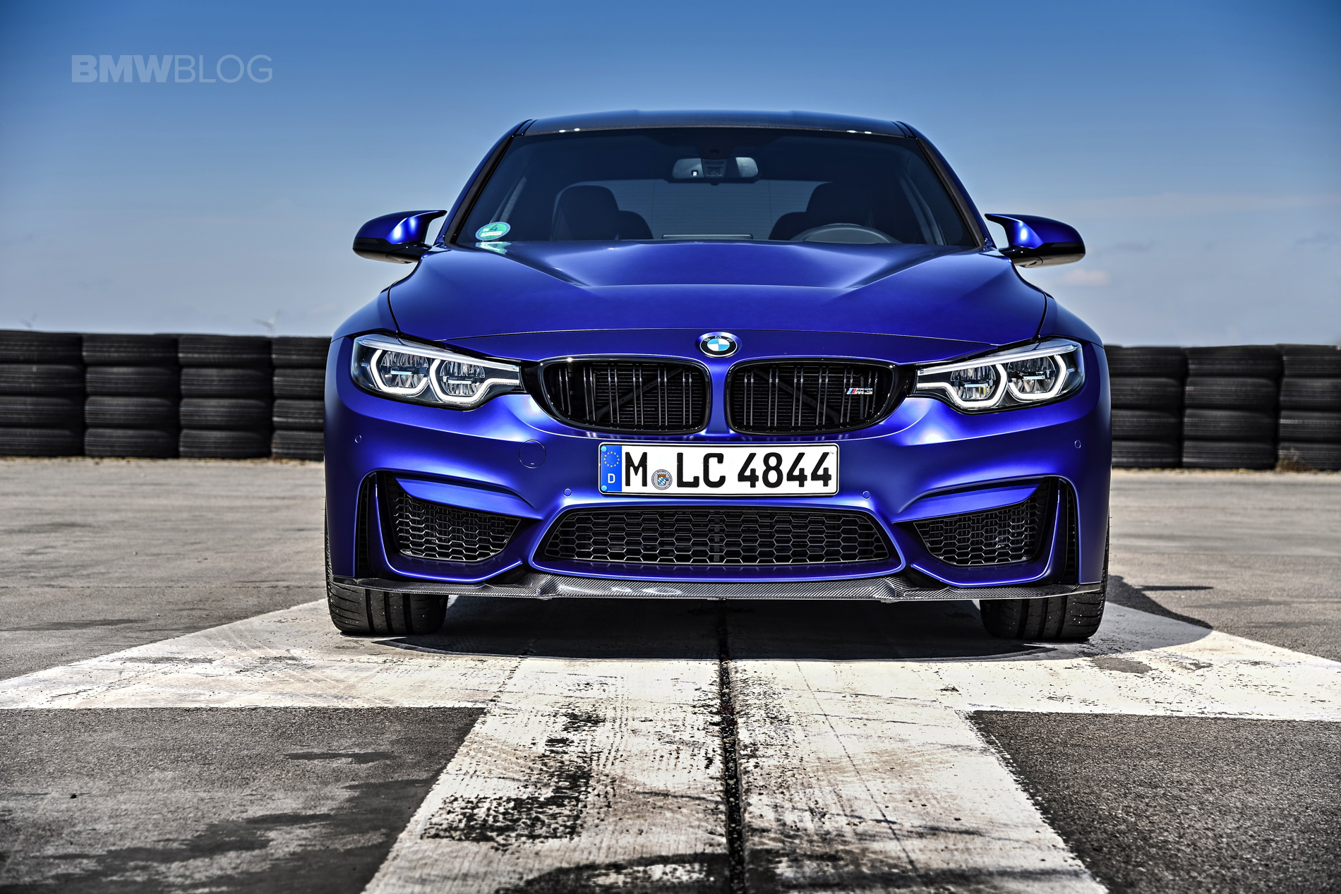 BMW M3 CS test drive review 01