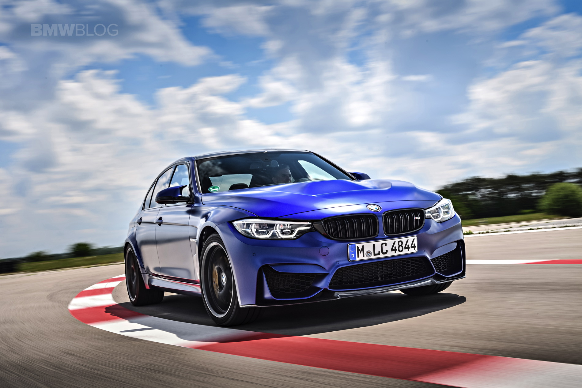 BMW M3 CS test drive review 18