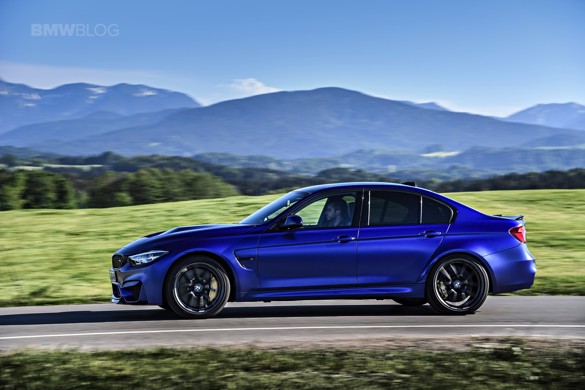 BMW M3 CS test drive review 50