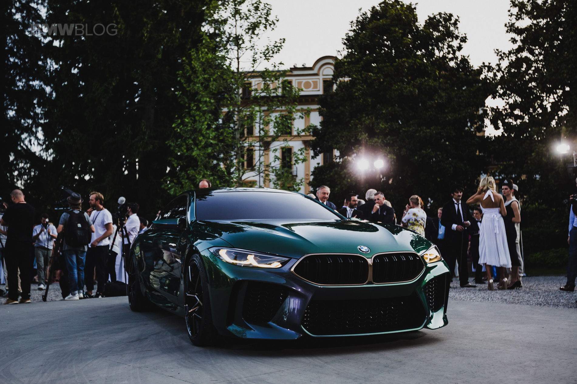 BMW M8 Gran Coupe Concept images 03