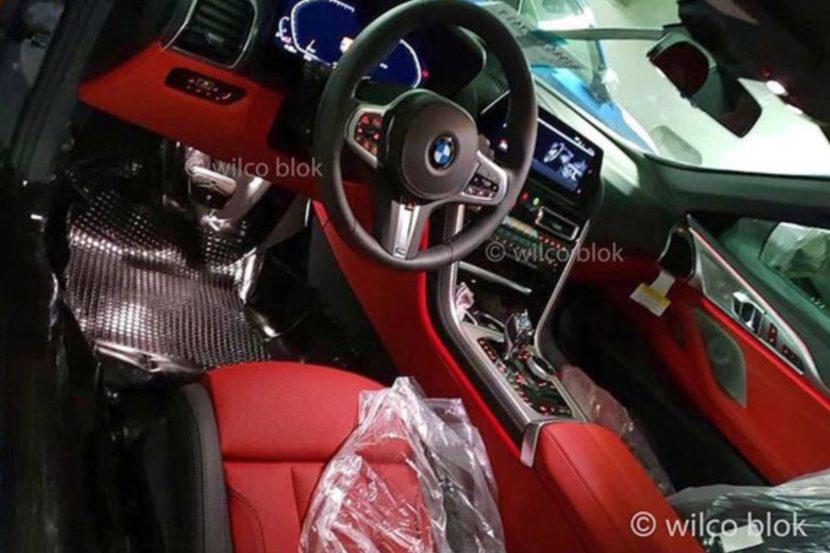 BMW M8 Leaked Interior 830x553