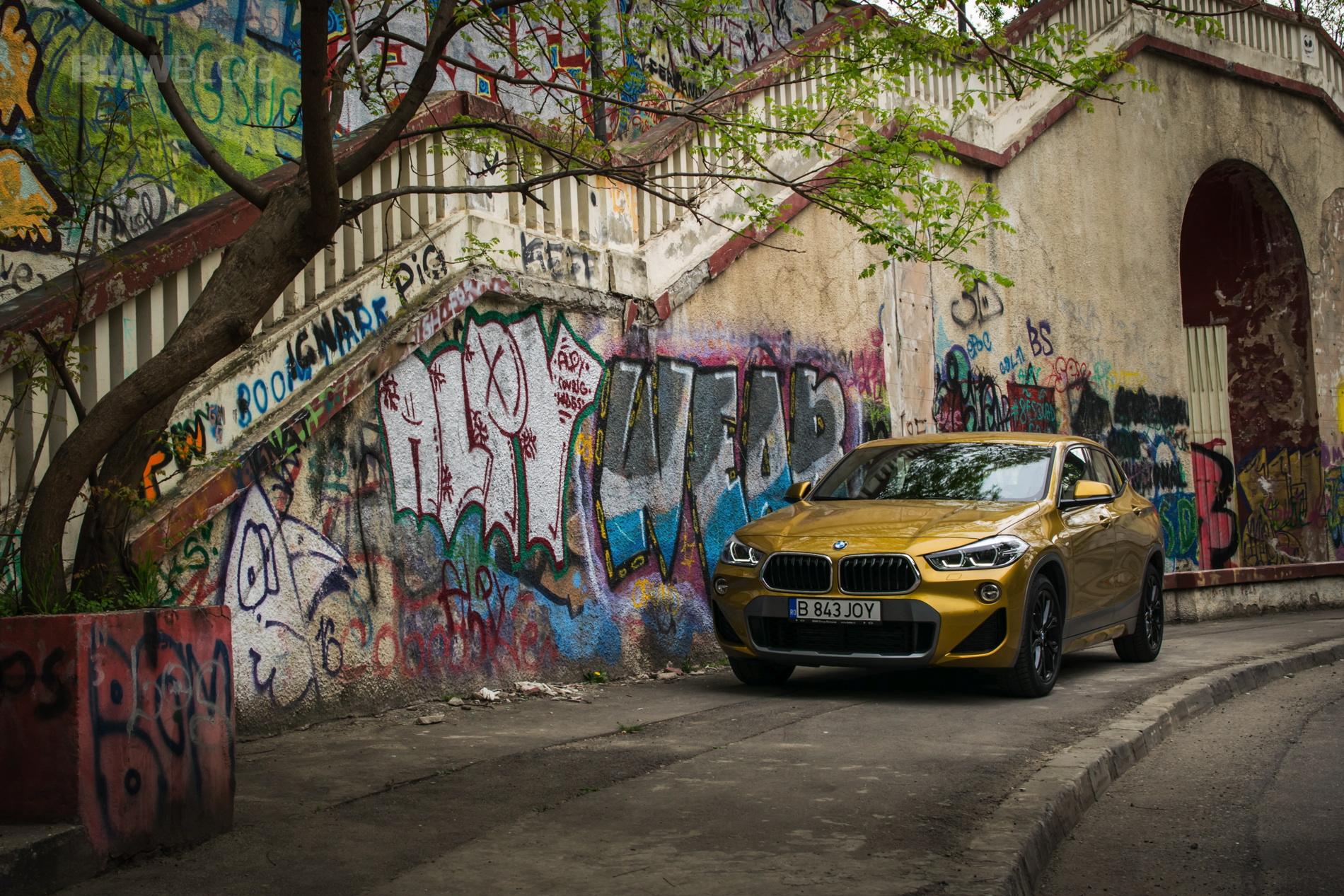 BMW X2 xDrive25d test drive 48