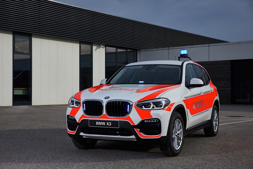 BMW X3 Emergency Vehicle P90304798 highRes 830x553