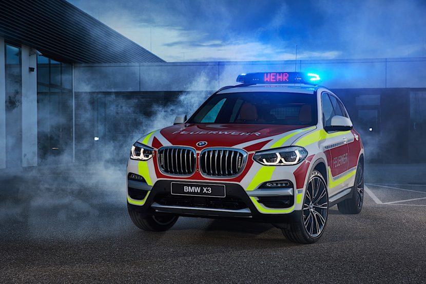 BMW X3 Emergency VehicleP90304783 highRes 830x553