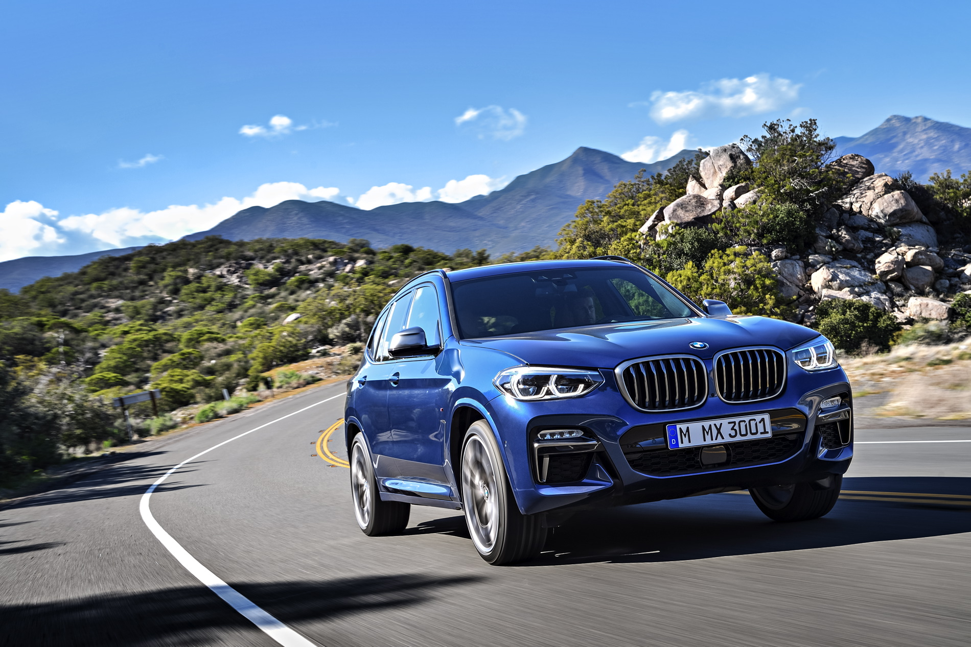 BMW X3 M40d available in July with 326 horsepower