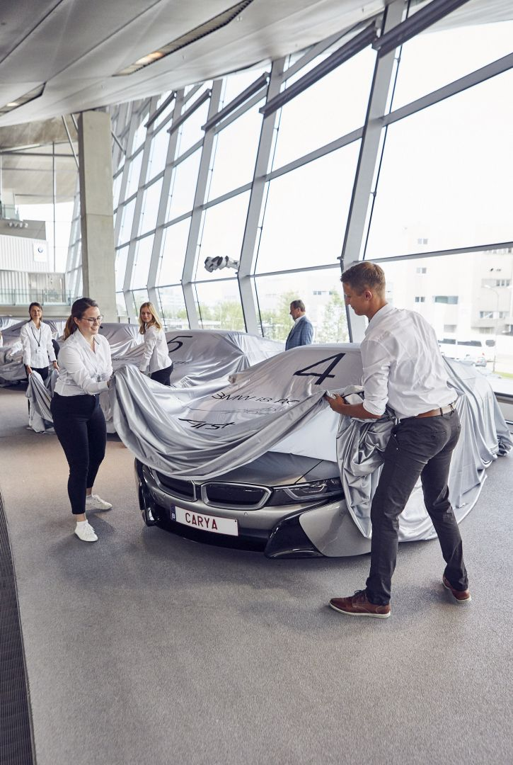BMW i8 First Edition Delivery 19