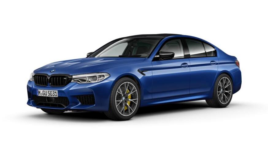 F90 M5 Competition Package Exterior Style 789M wheels
