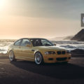 Phoenix Yellow BMW M3 with HRE 540 Wheels in Polished Clear 1 120x120