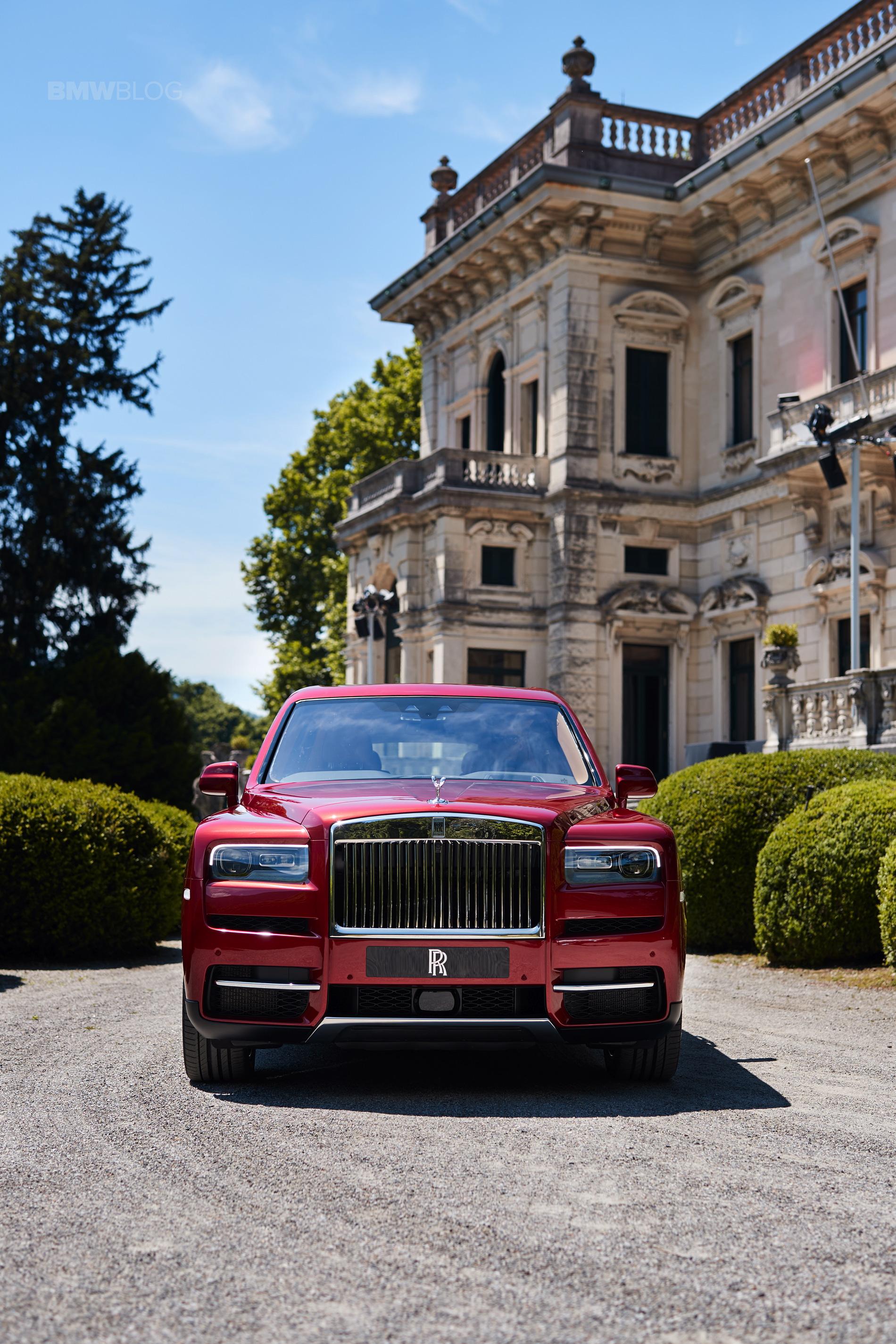 Rolls Royce Cullinan Concorso d eleganza 06