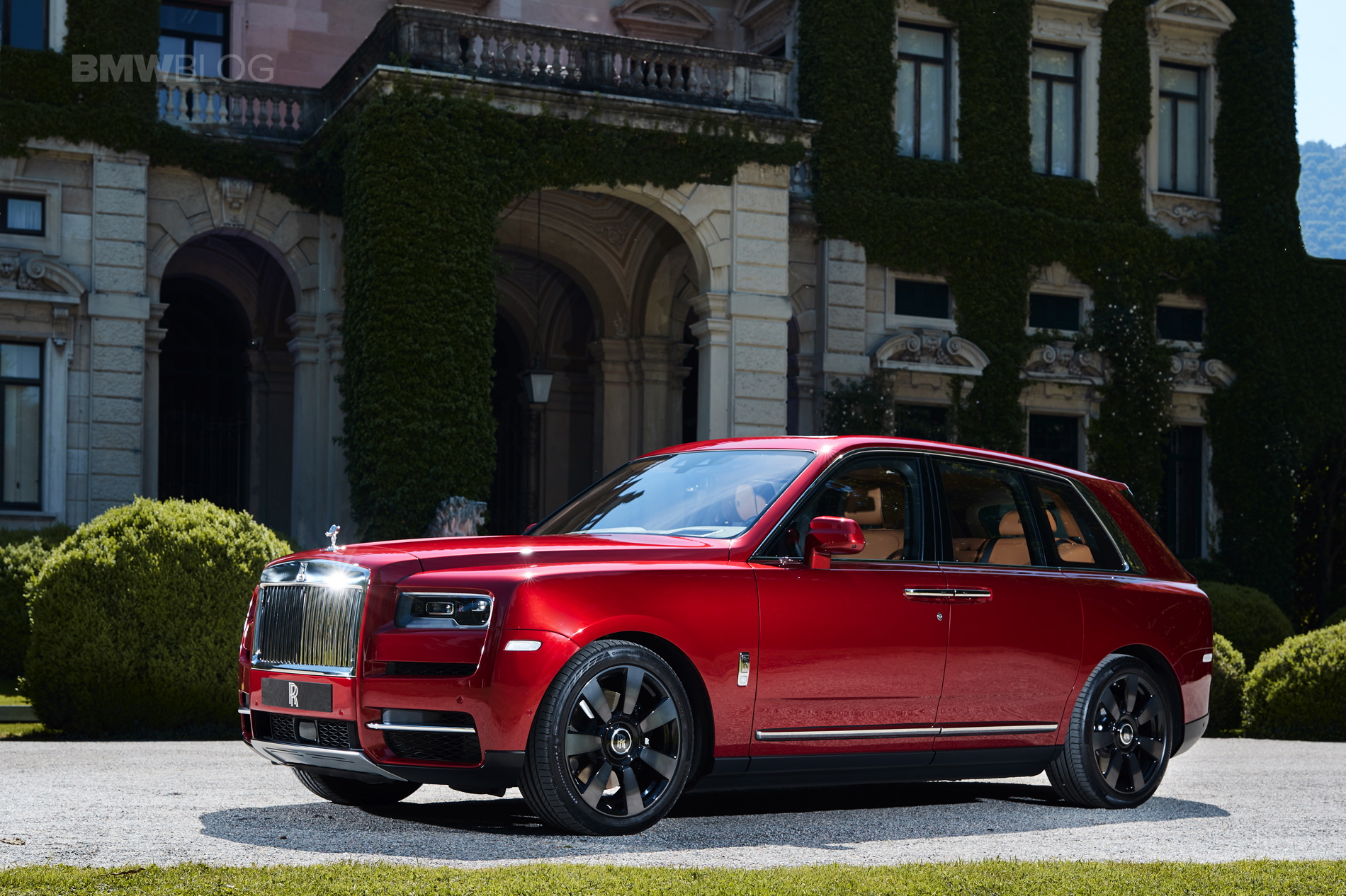Rolls Royce Cullinan Concorso d eleganza 14