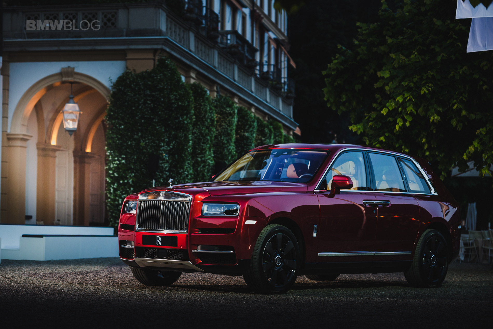 Rolls Royce Cullinan Concorso d eleganza 30