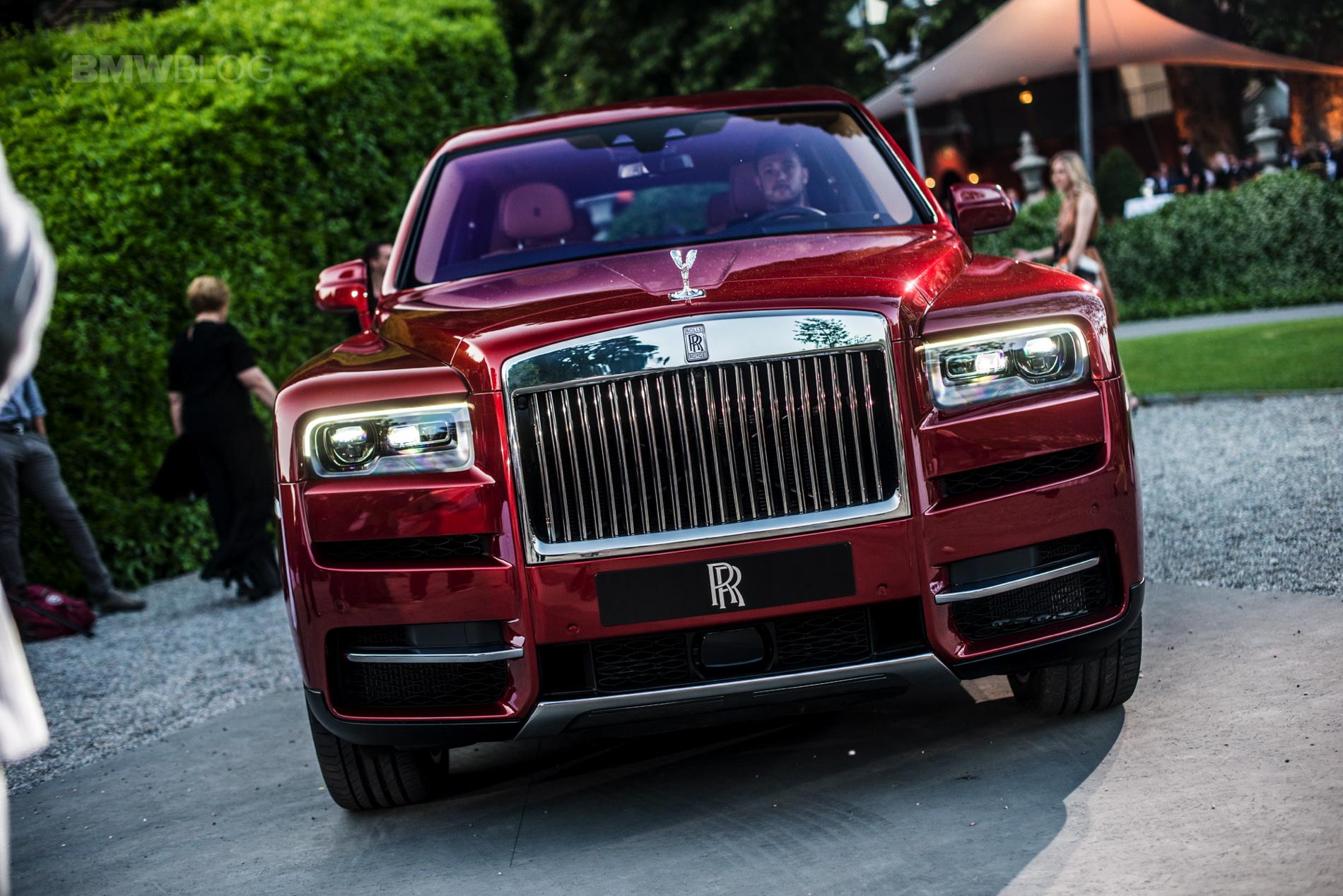Rolls Royce Cullinan Concorso d eleganza 46