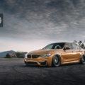 Sunburst Yellow BMW M3 with HRE 540 Wheels in Satin Black 7 120x120