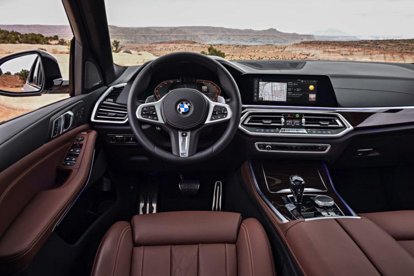 2018 BMW G05 X5 interior 02 830x553