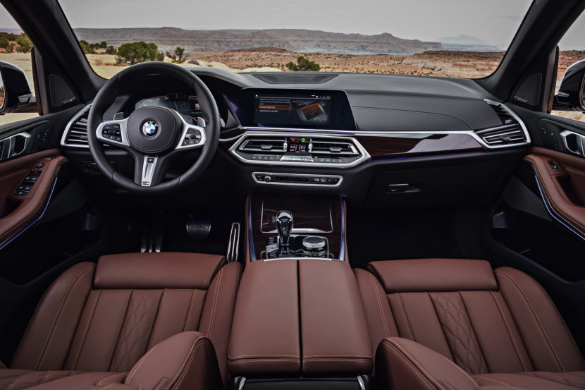 2018 BMW G05 X5 interior 13 830x553