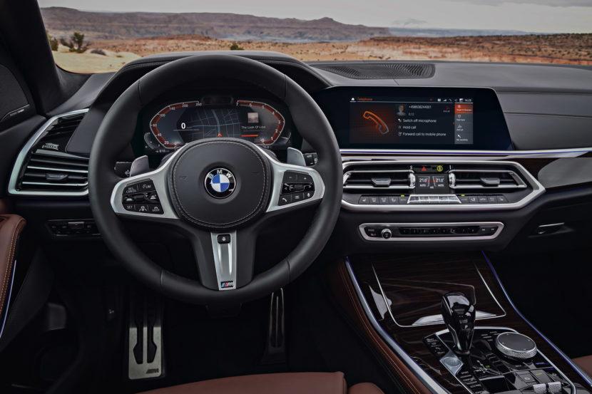 2018 BMW G05 X5 interior 14 830x553