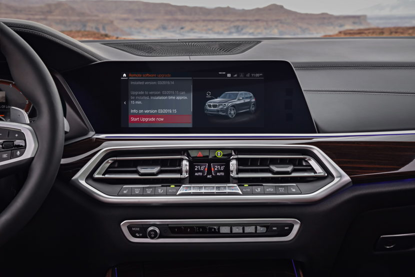 2018 BMW G05 X5 interior 15 830x553