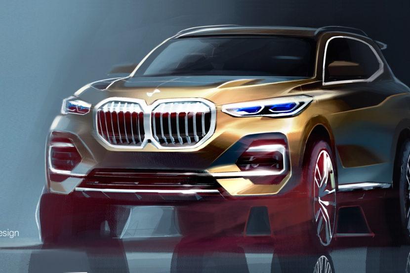 2018 BMW G05 X5 sketches 05 830x553