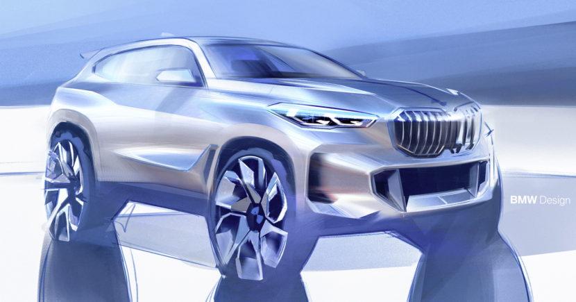 2018 BMW G05 X5 sketches 06 830x435