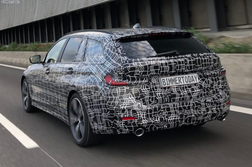 2019 BMW 3er Touring G21 spy photos 02 830x552