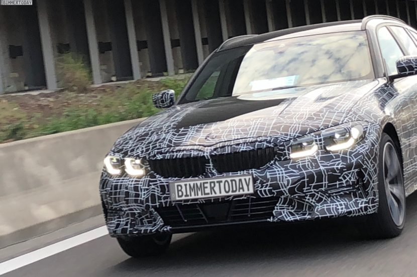 2019 BMW 3er Touring G21 spy photos 05 830x553