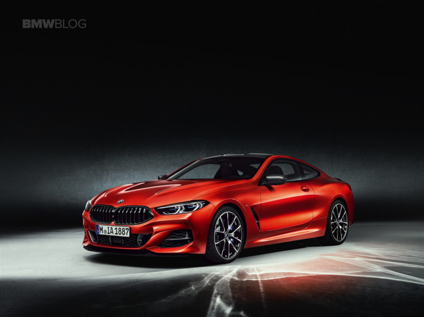 2019 BMW 8 Series Coupe Sakhir Orange 01 830x622