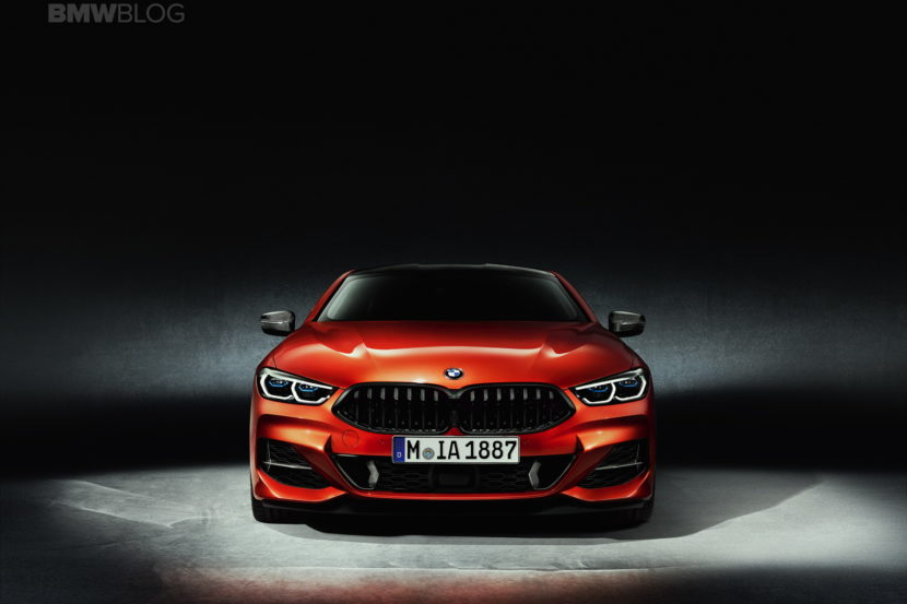 2019 BMW 8 Series Coupe Sakhir Orange 02 830x553