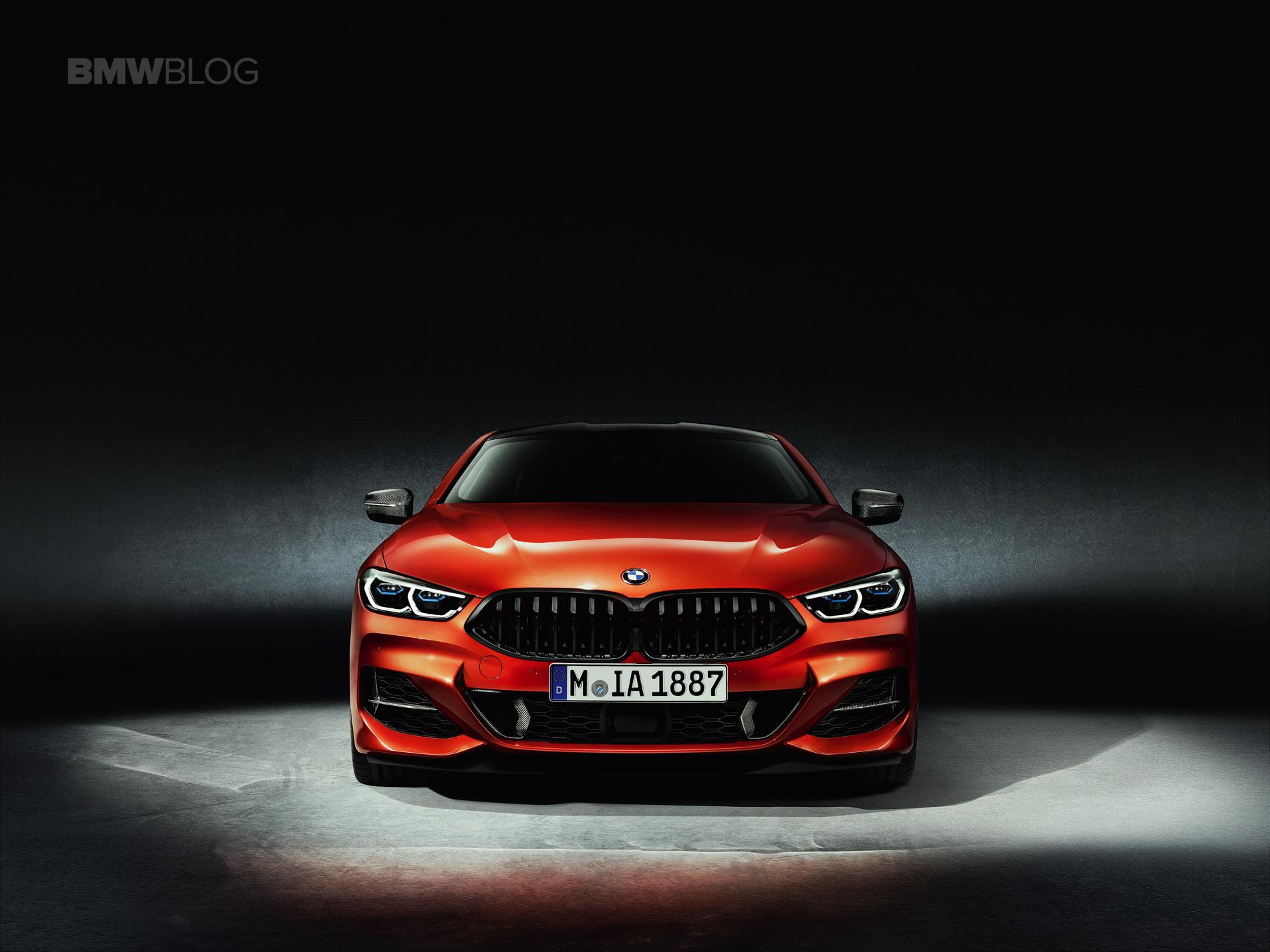 2019 BMW 8 Series Coupe Sakhir Orange 02