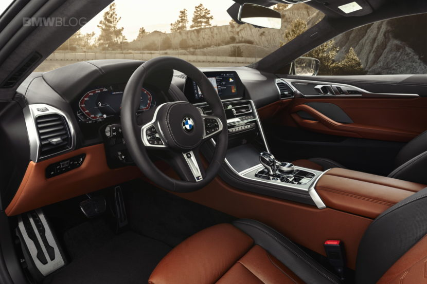 2019 BMW 8 Series Coupe interior 01 830x553