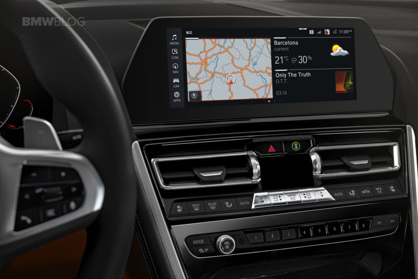 2019 BMW 8 Series Coupe interior 06 830x553