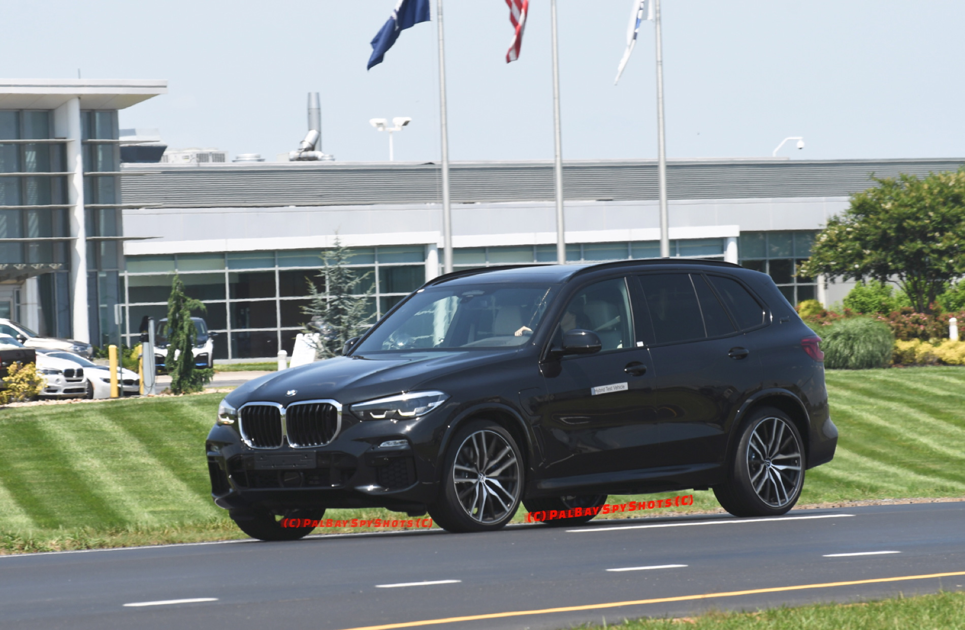 The Upcoming Bmw G05 X5 Xdrive45e Hybrid Spotted On The Road