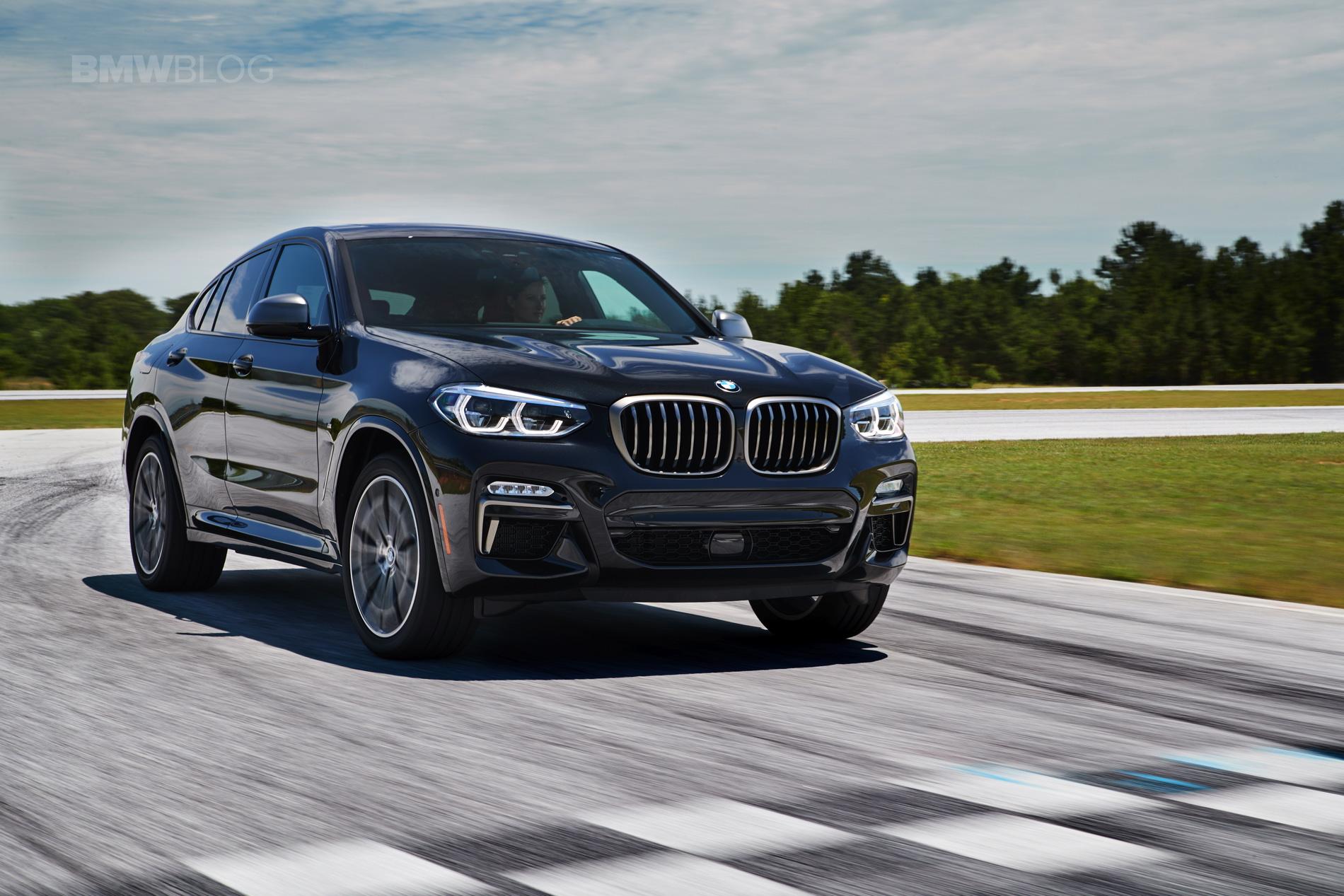 2019 G02 BMW X4 M40i test drive 01