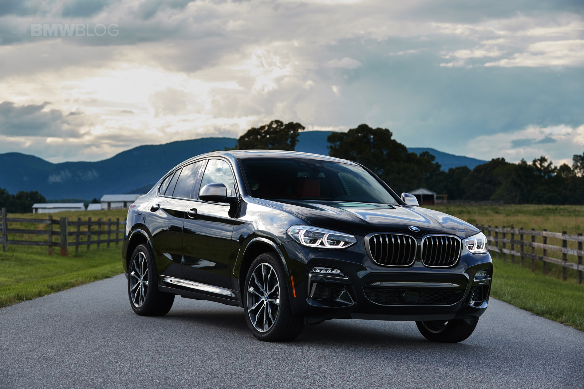 2019 G02 BMW X4 M40i test drive 46
