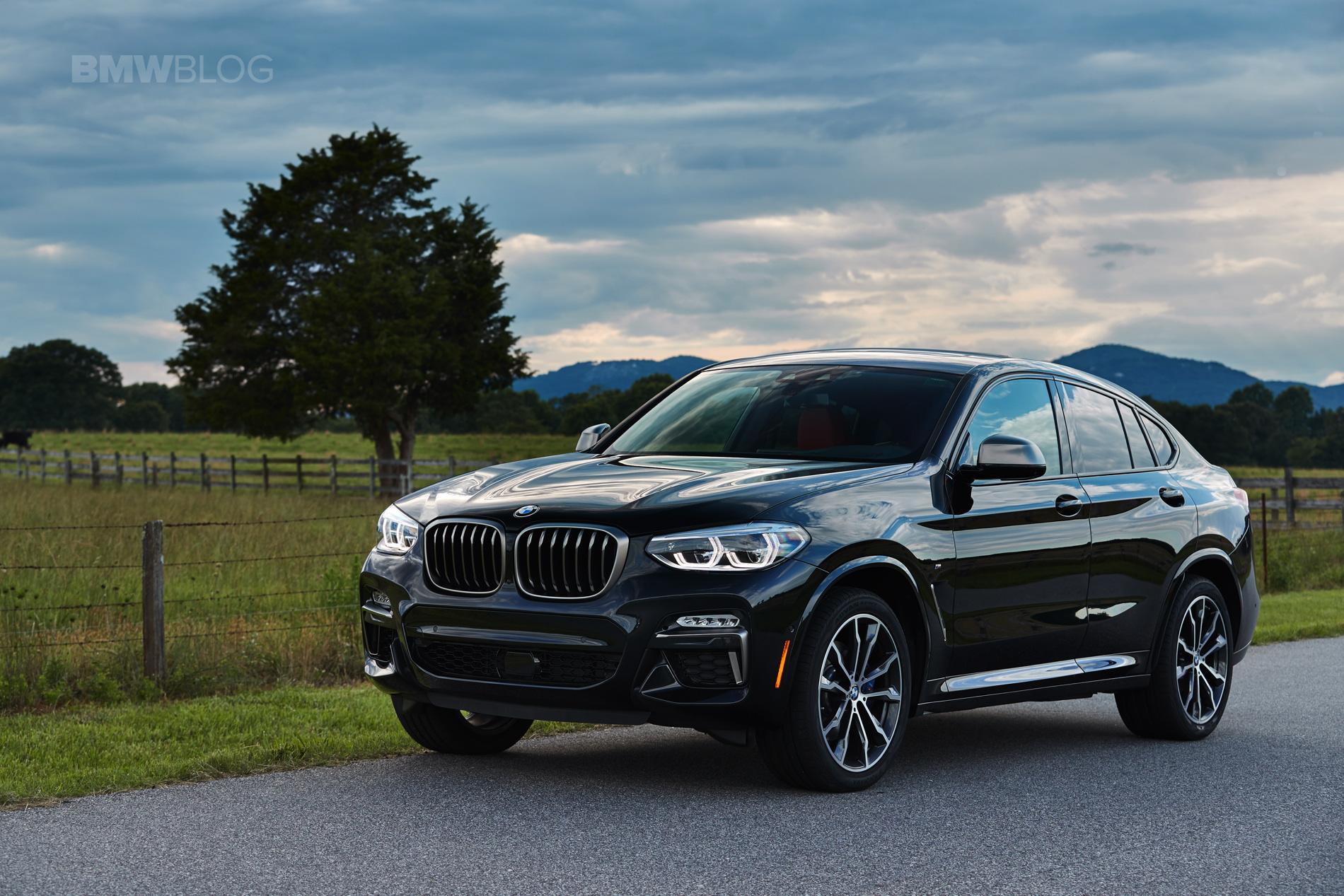SPIED: рестайлинг BMW X4 M40i 2022 года выдерживает зимние испытания