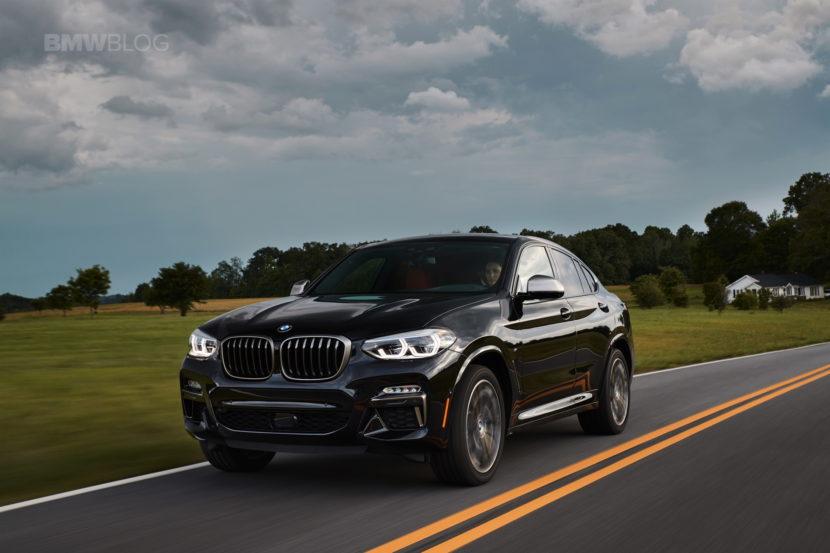 2019 G02 BMW X4 M40i test drive 53 830x553