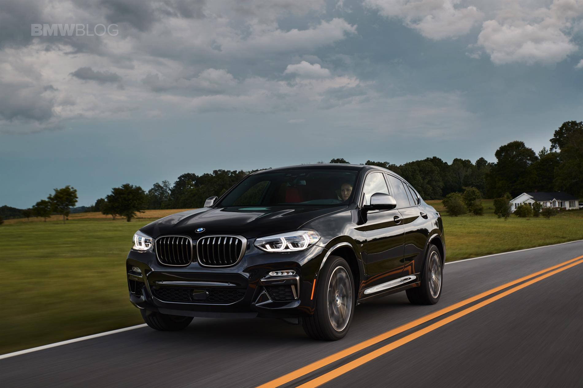 SPIED: BMW X4 M40i LCI 2022 года: рестайлинг с увеличенными решетками