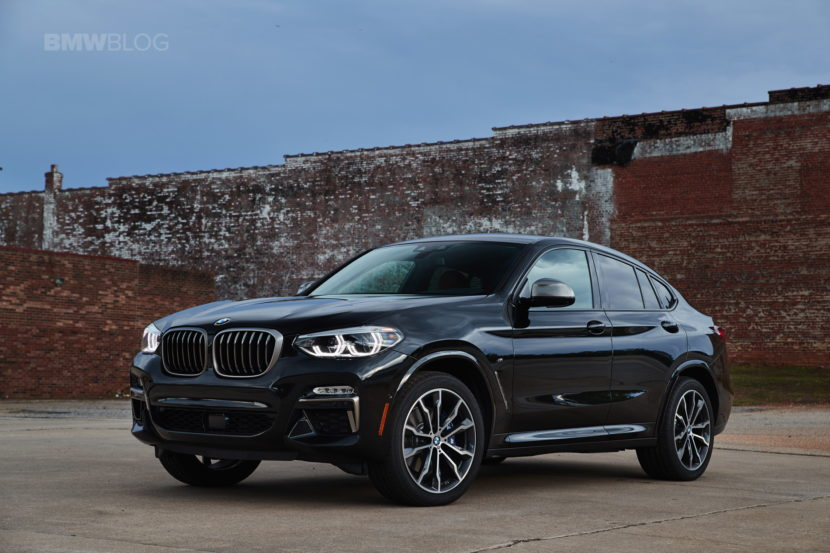 2019 G02 BMW X4 M40i test drive 58 830x553