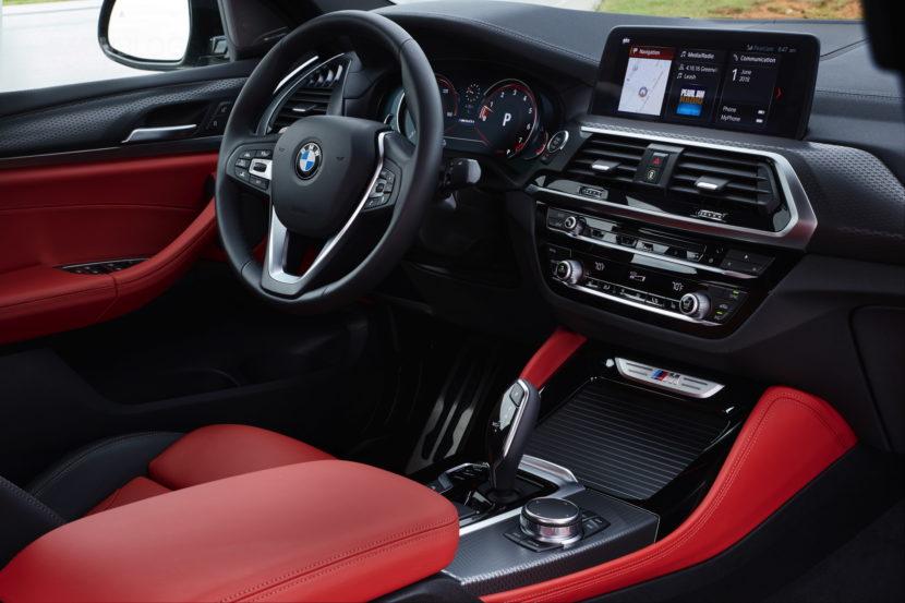 2019 G02 BMW X4 M40i test drive 80 830x553