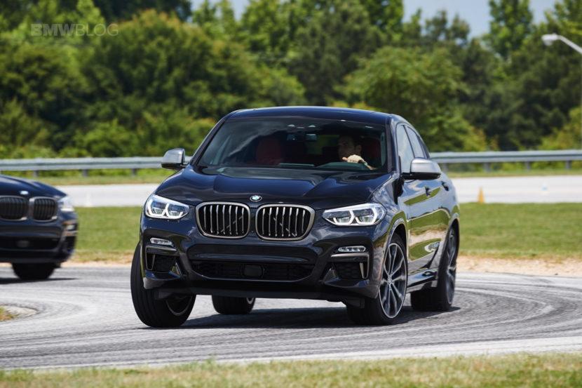 2019 G02 BMW X4 M40i track 01 830x553