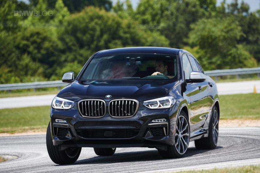 2019 G02 BMW X4 M40i track 04 830x553