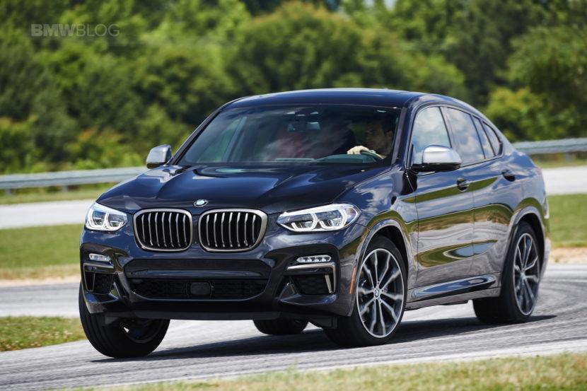 2019 G02 BMW X4 M40i track 05 830x553