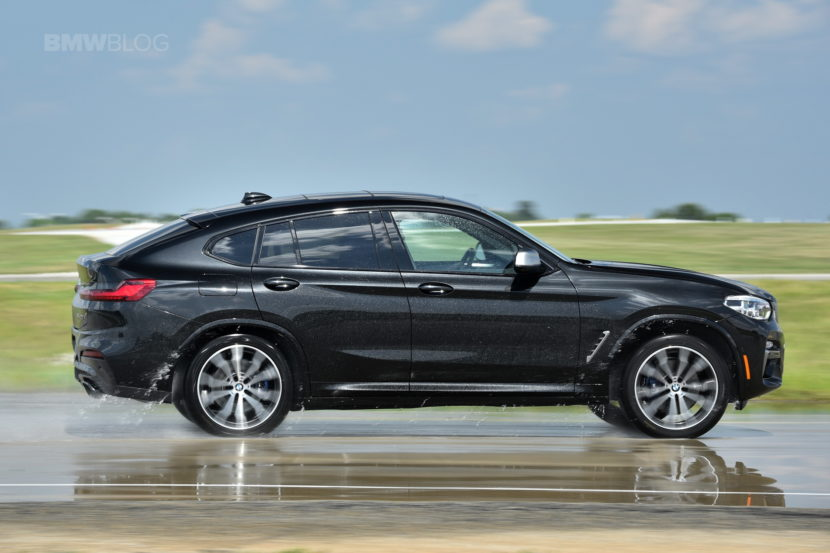 video edmunds drives the bmw x4 m40i. Black Bedroom Furniture Sets. Home Design Ideas