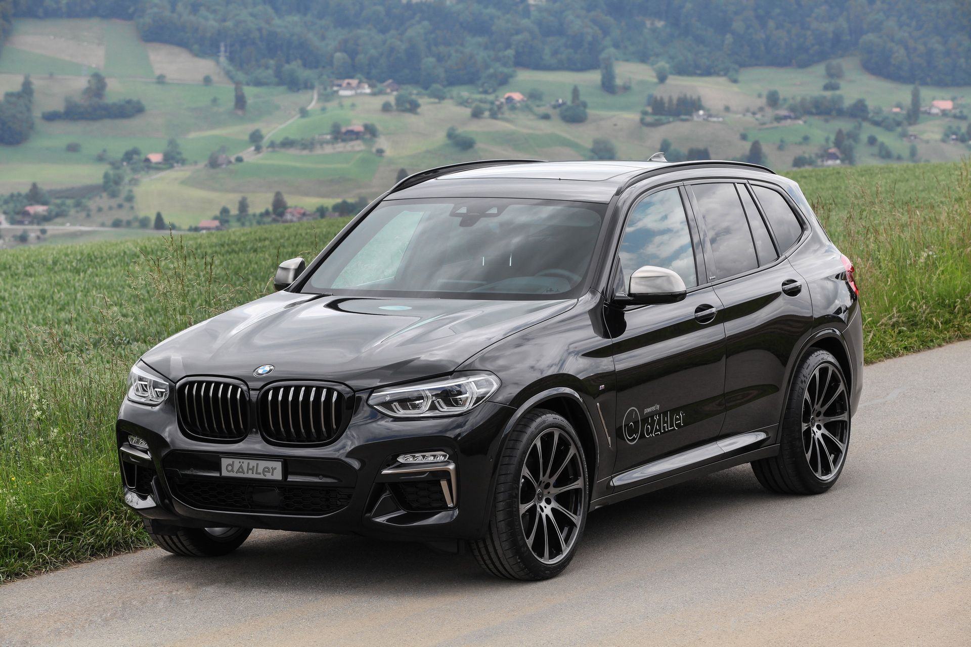 Dahler Bmw X3 M40i Has 420 Ps And A Blacked Out Theme
