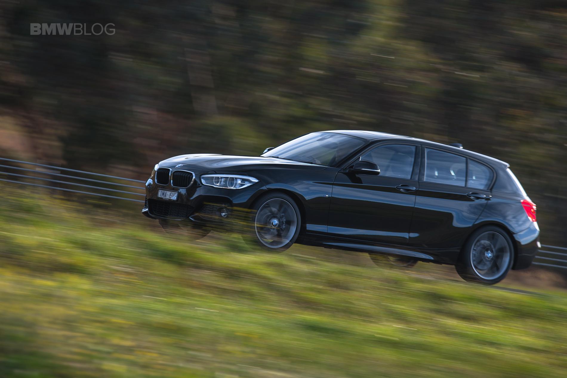 BMW 120i hatchback test drive 25