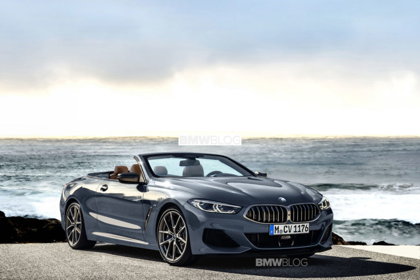 BMW 8 Series Convertible rendering 830x553
