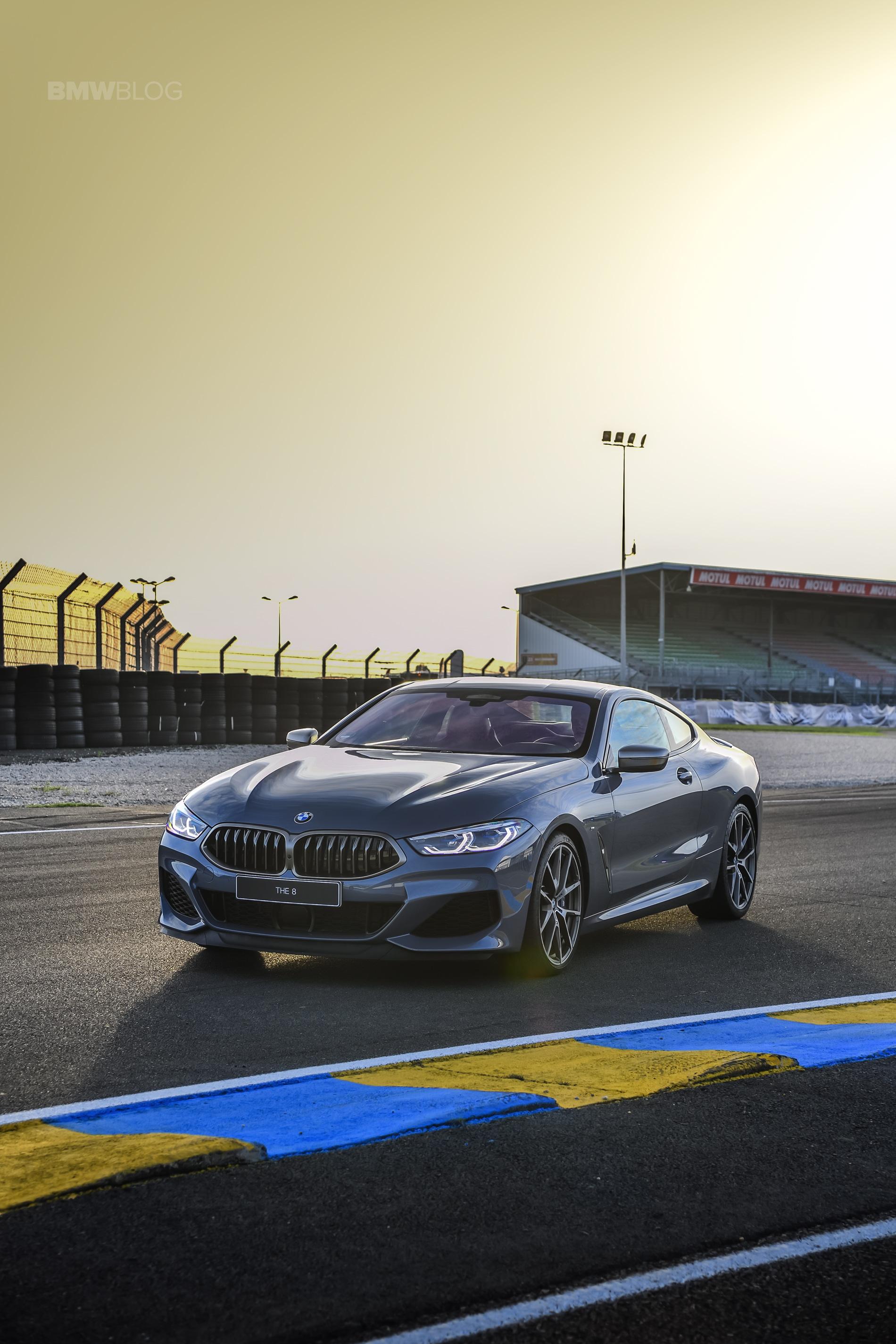BMW 8 Series track Le mans 2018 01