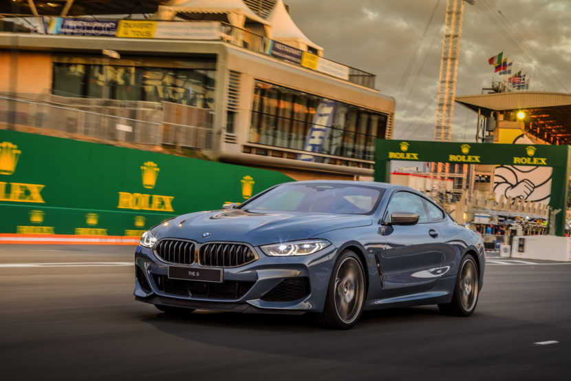 BMW 8 Series track Le mans 2018 07 830x553
